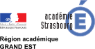 Aller sur le site de l'Académie de Strasbourg